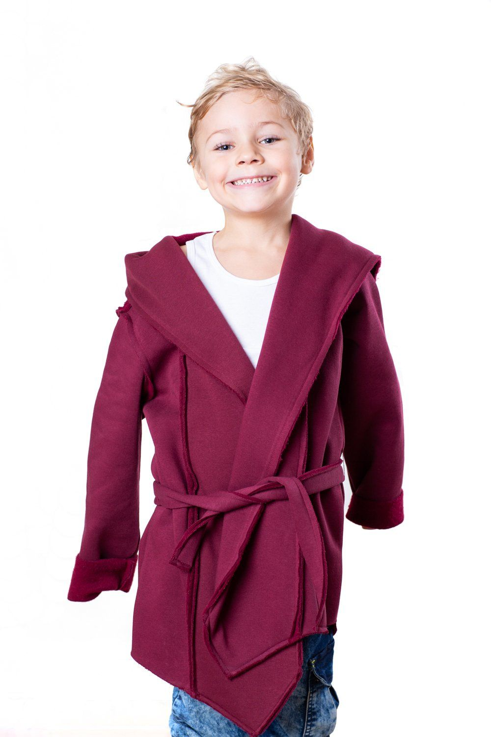 TheG Cardigan SET // merlot + KIDS CARDIGAN AS A GIFT