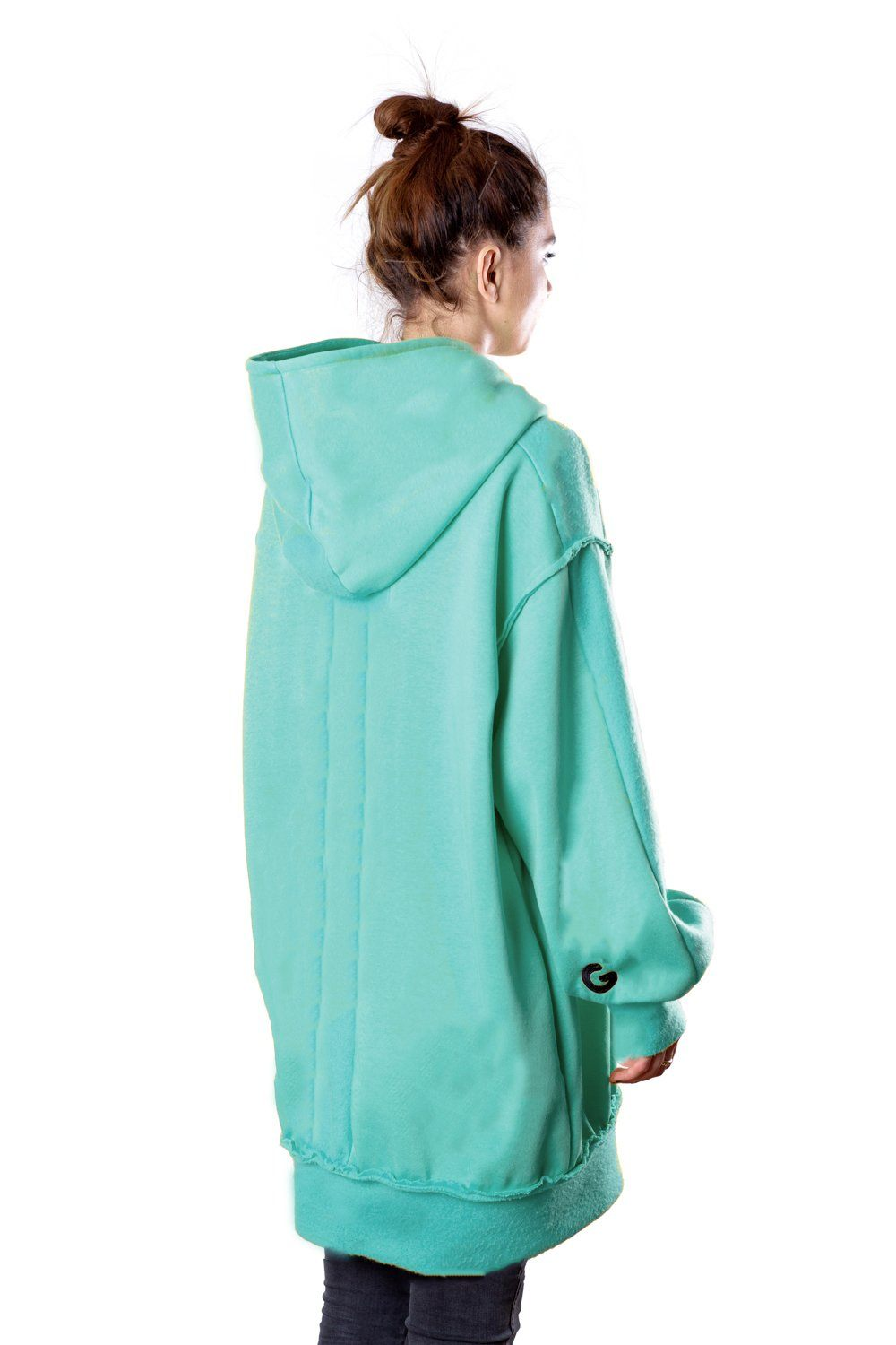TheG Fresh Oversize Hoody Woman // mint