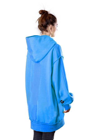 TheG Fresh Oversize Hoody Woman // blue