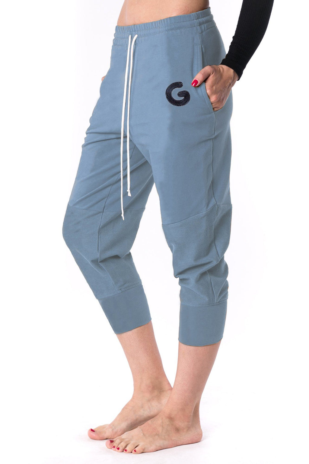 The Woman Panelled Jogger 17 // blue