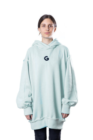 TheG Fresh Oversize Hoody Woman // neutral