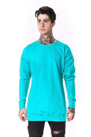 The Man Panelled Pullover Crewneck 17 // tyrkys