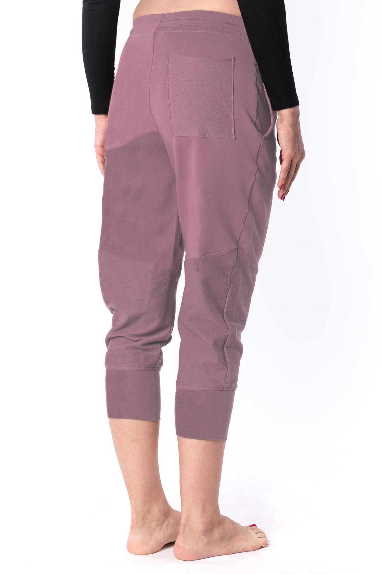 The Woman Panelled Jogger 17 // old pink