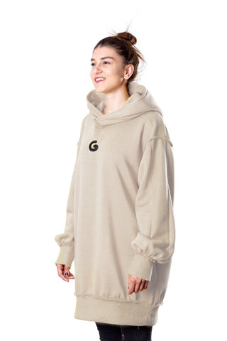 TheG Fresh Oversize Hoody Woman // wheat