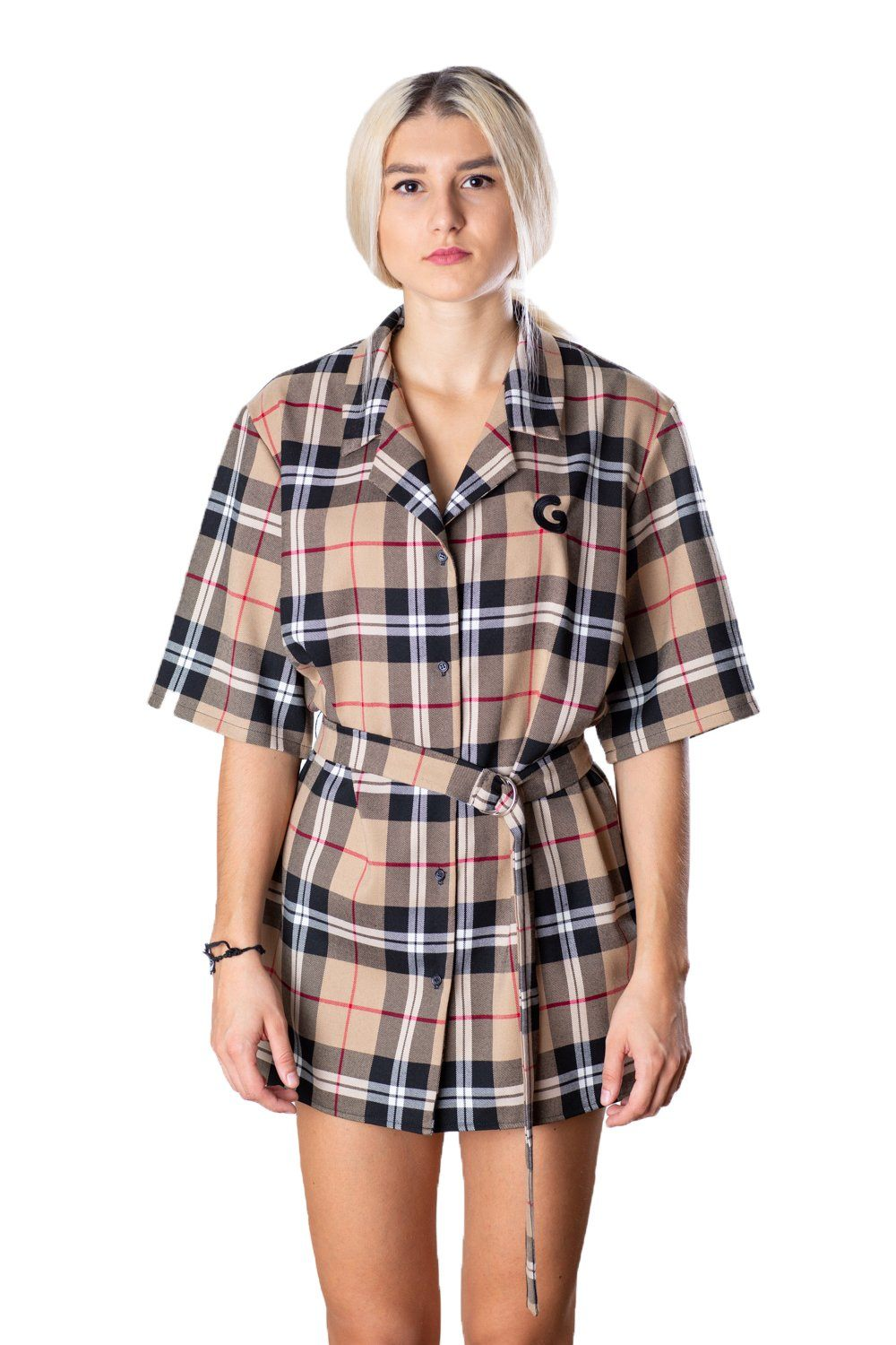 Tartan Woman Dress // burberry