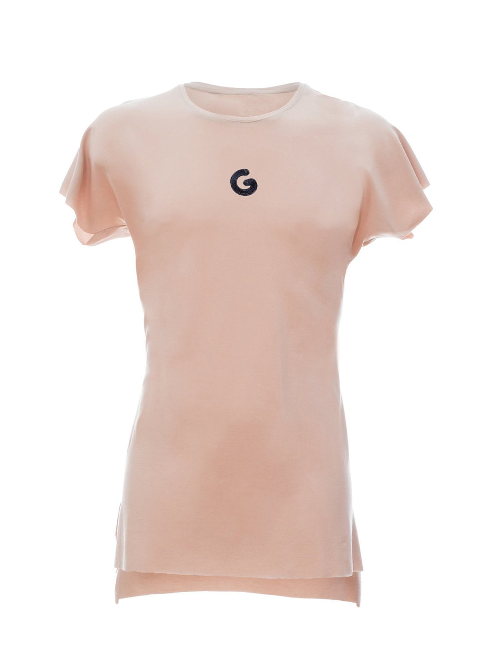 TheG Viscose Essential Short Sleeve Tee // tan