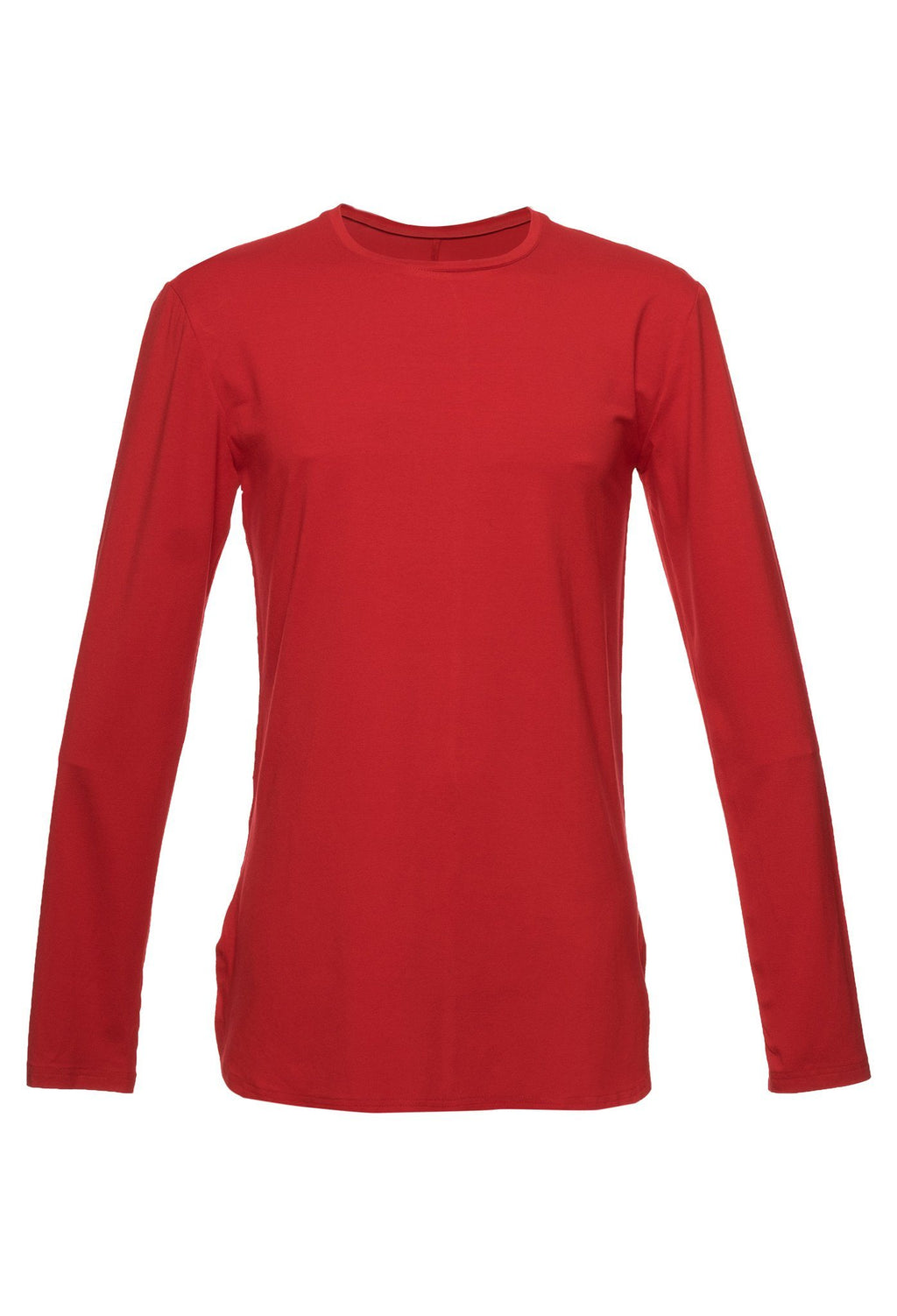 TheG viscose handmade designer under long tee red