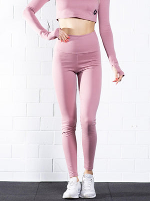The Energy Waistband Leggings 0.2 // light rose