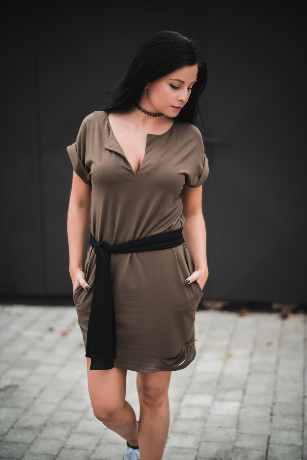 Deni Genuine Destroyed Dress // firgreen