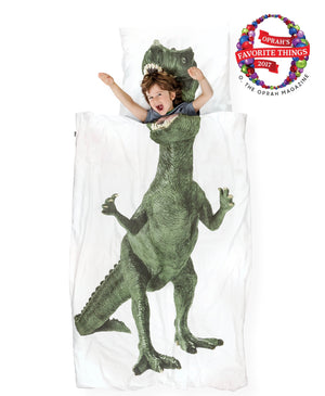 T-Rex Queen Size Dino Boy Horizontal Living