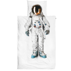 Astronaut Twin Horizontal Living Duvet Set