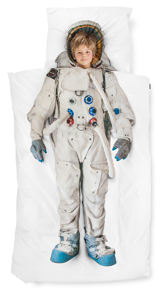 Astronaut Queen Horizontal Living Duvet Set