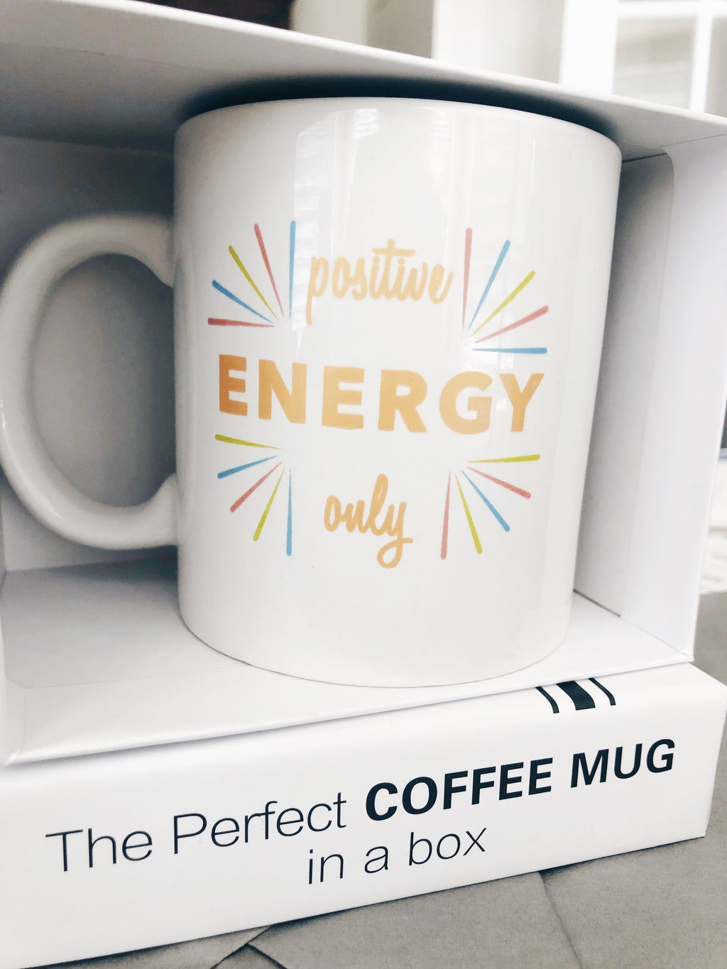 Positive Energy Only Coffee Mug