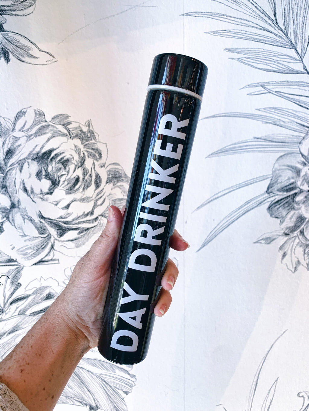Day Drinker Slim Flask Bottle