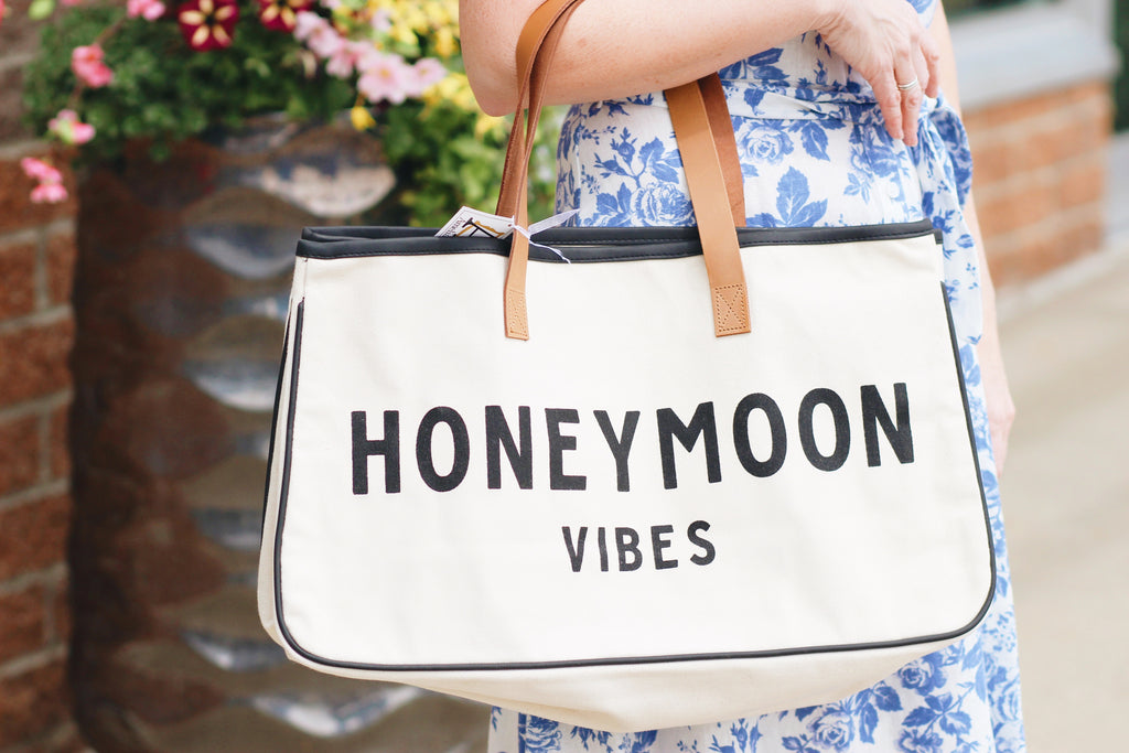 Honeymoon Vibes Travel Tote!