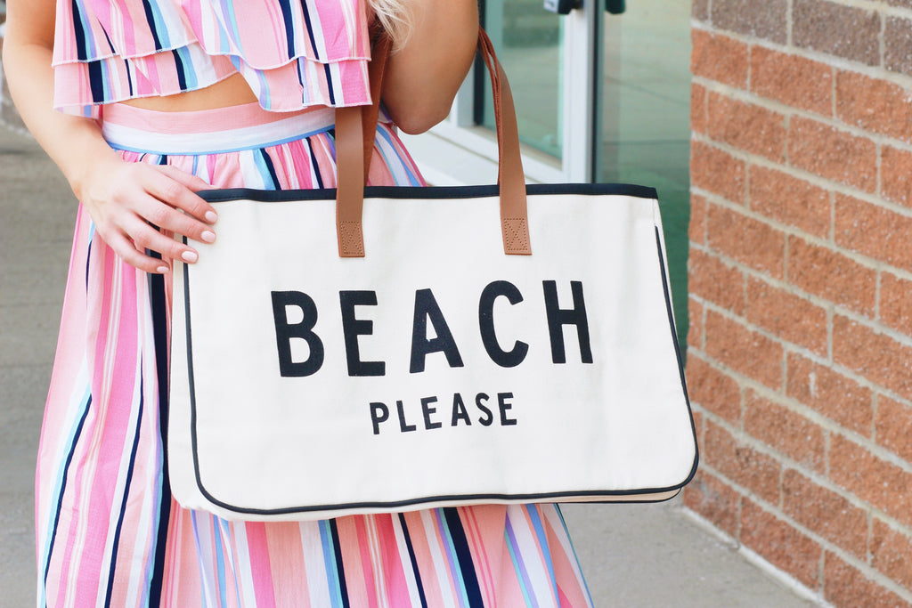 Beach PLEASE!!!! Travel Tote