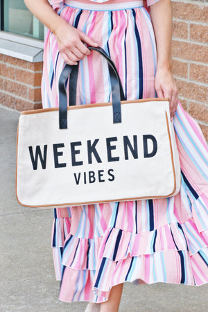 LakeLife! Canvas Tote #Goals