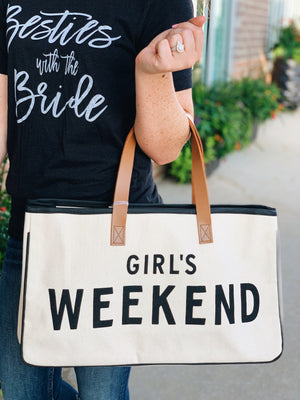 Girl's Weekend Tote (9 Options)