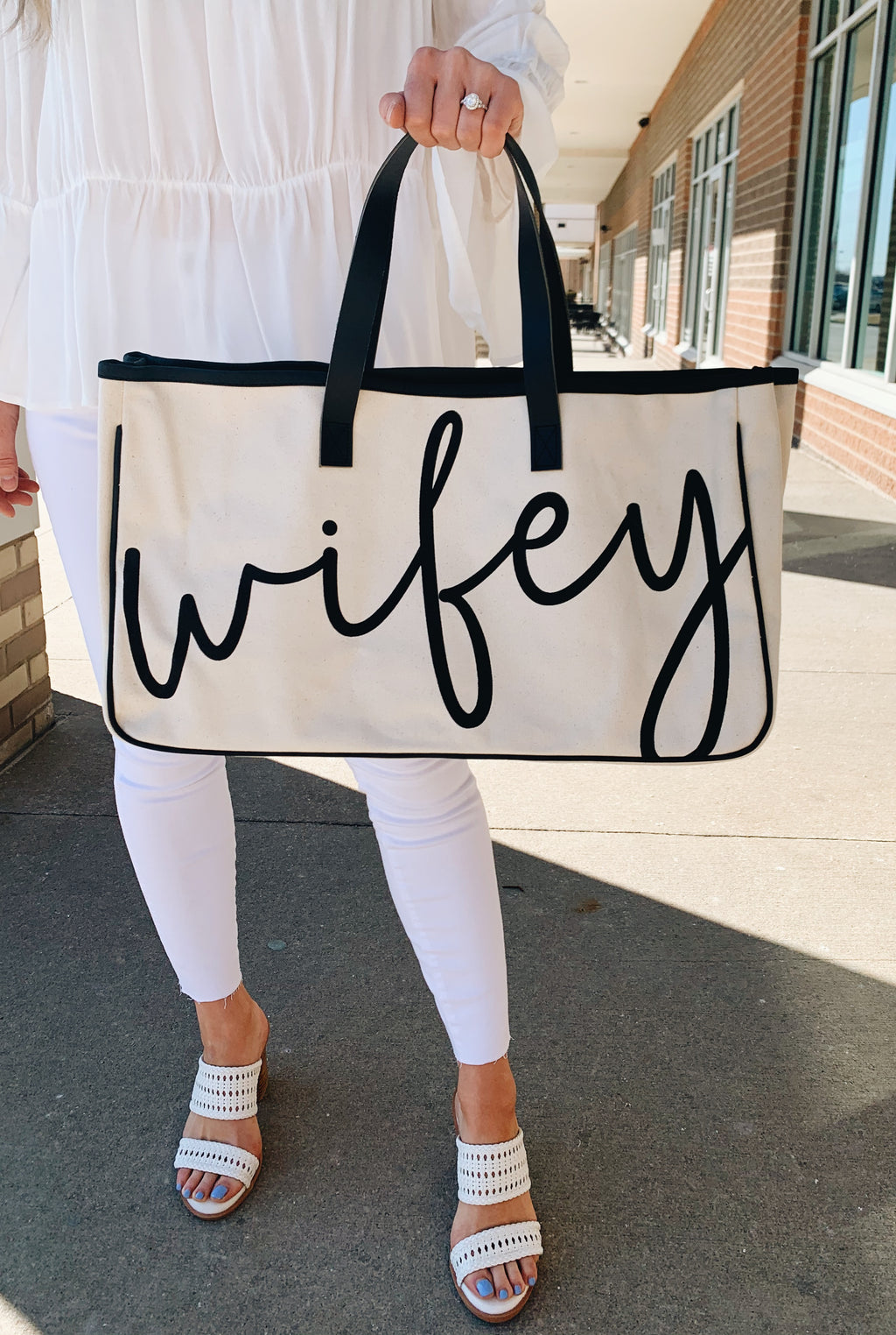 Wifey!!! Canvas Tote!