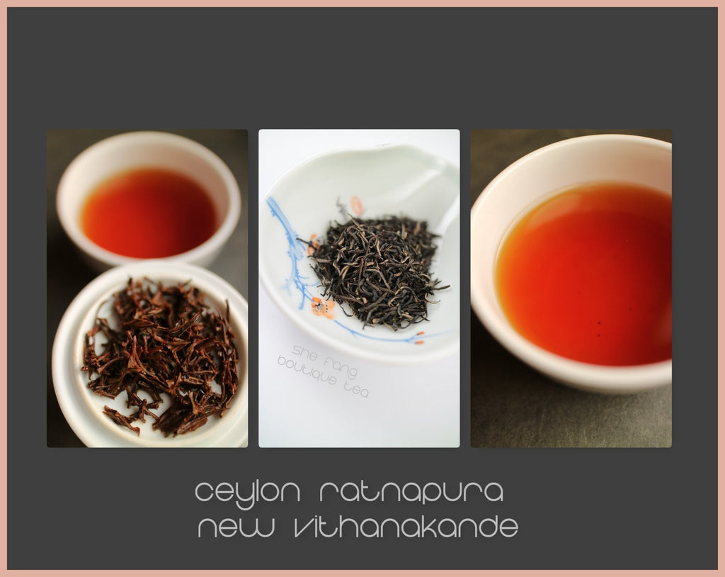 "Tasting Notes - Ceylon Ratnapura New Vithanakande FBOPFEXSP ""Silver Tips"" N.505 - She Fang Boutique Tea"
