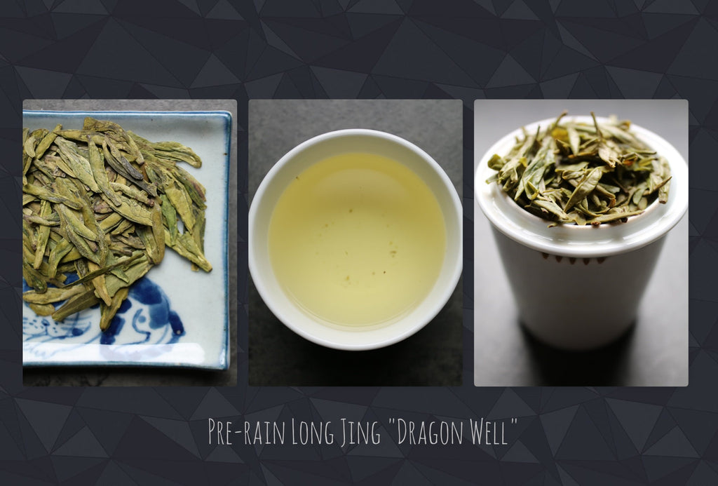 Pre-rain Dragon Well Imperial grade - She Fang Boutique Tea