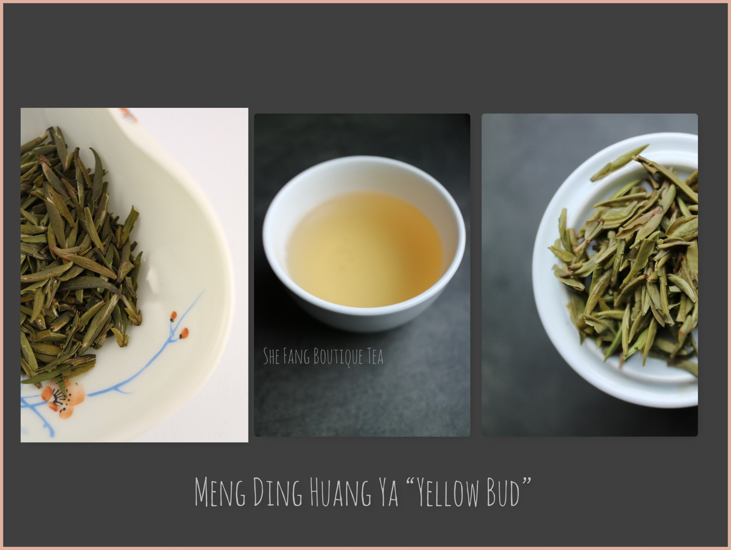 "Tea Sourcing -  Meng Ding Huang Ya ""Yellow Bud"""