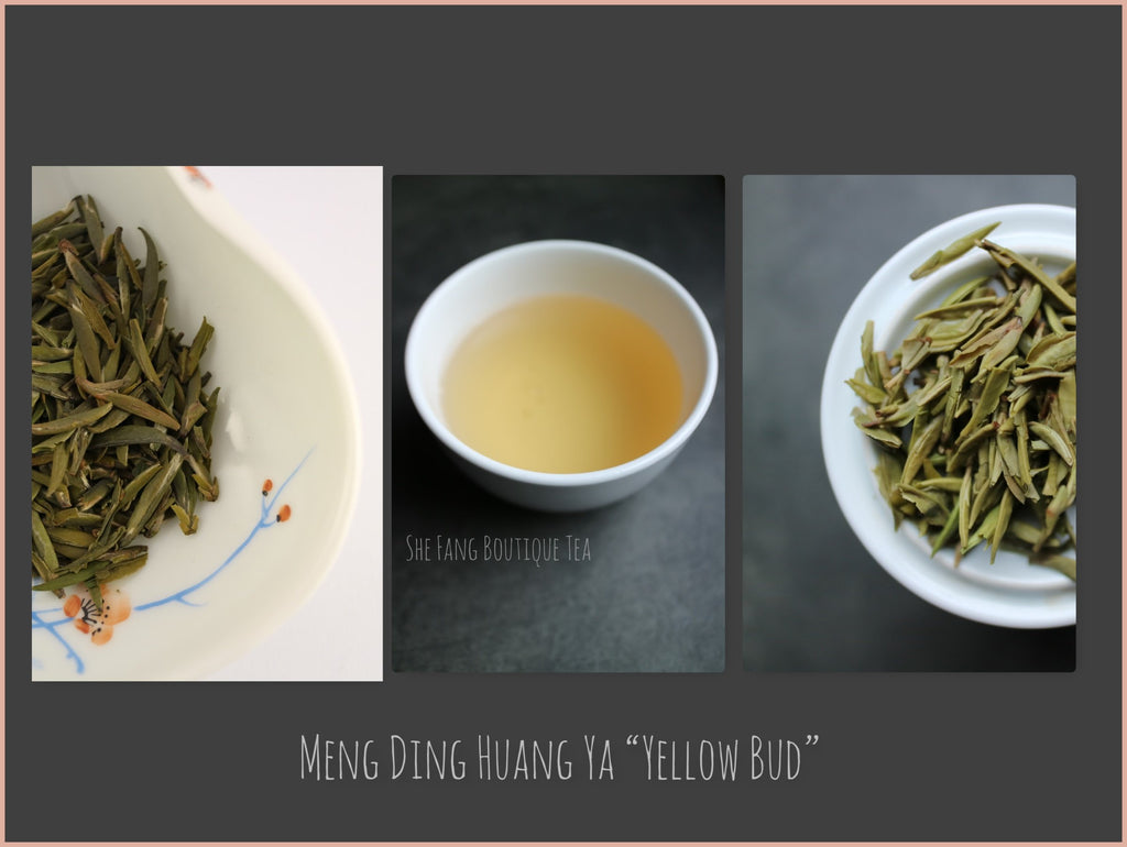 "Tea Sourcing -  Meng Ding Huang Ya ""Yellow Bud"" - She Fang Boutique Tea"