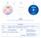 BTS (방탄소년단) 2017 BTS LIVE TRILOGY EPISODE III THE WINGS TOUR IN SEOUL (3DVD) (Korean)