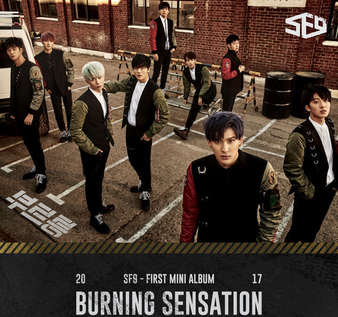 SF9 (에스에프나인) Mini Album Vol. 1 - Burning Sensation (Korean)