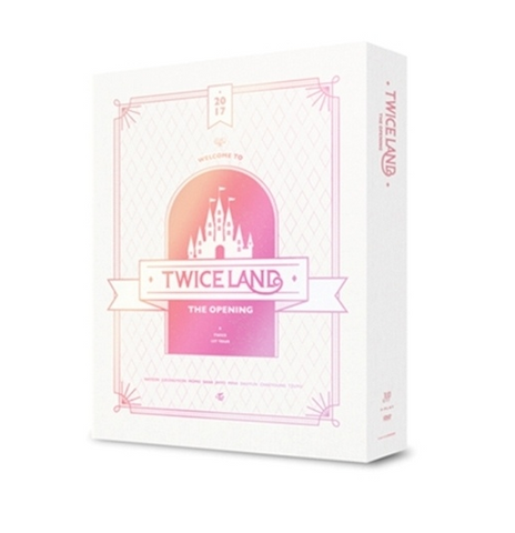 TWICE (트와이스) 'TWICELAND' The Opening Concert (3DVD) (Korean)