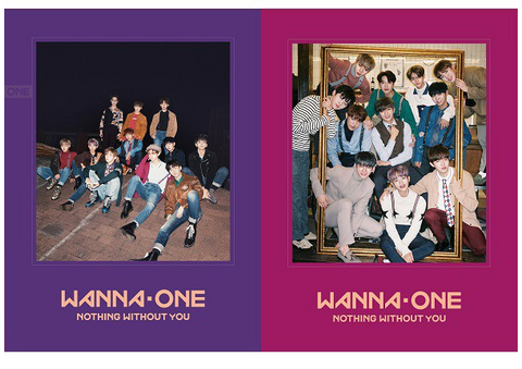 WANNA ONE (워너원) Mini Album Vol. 1 Repackage - NOTHING WITHOUT YOU (Korean)