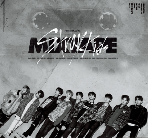 Stray Kids (스트레이 키즈) Debut Album - MIXTAPE (Korean)