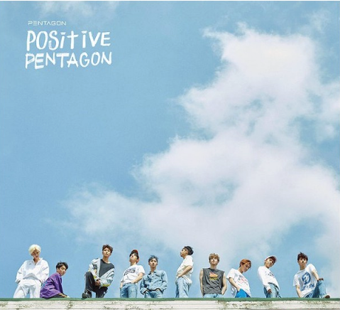 PENTAGON (펜타곤) Mini Album Vol. 6 - POSITIVE (Korean)