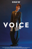 ONEW (온유) Mini Album Vol. 1 - VOICE (Korean) RANDOM VERSION