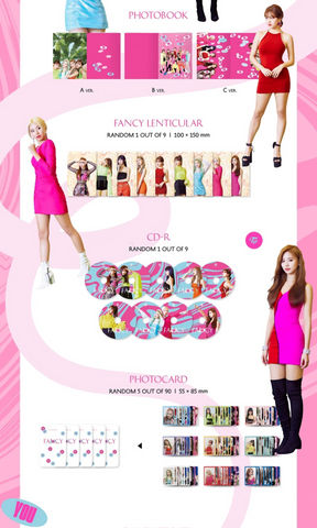 TWICE (트와이스) Mini Album Vol  7 - FANCY YOU (Korean) – KYYO