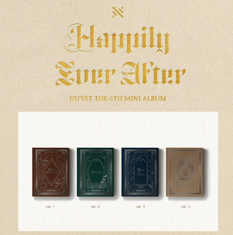 NU'EST (뉴이스트) Mini Album Vol. 6 - Happily Ever After (Korean)