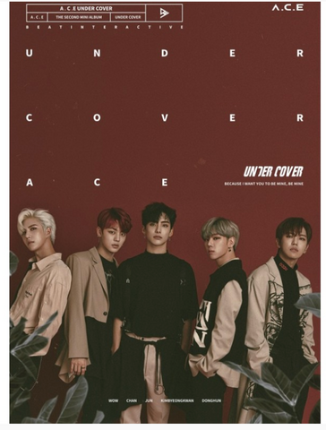 A.C.E (에이스) Mini Album Vol. 2 - Under Cover (Korean)
