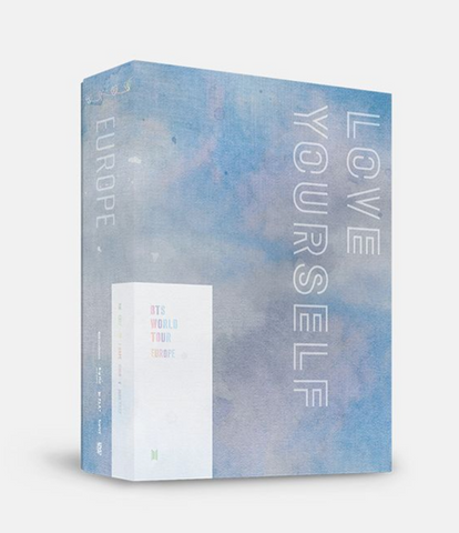 BTS (방탄소년단) BTS WORLD TOUR 'LOVE YOURSELF' EUROPE (2DVD) (KOREAN)