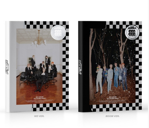 NCT DREAM (엔시티 드림) Mini Album Vol. 3 - We Boom (Korean Edition)