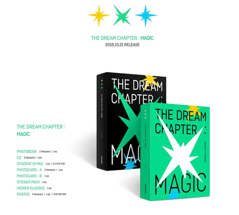 TXT (투모로우바이투게더) THE DREAM CHAPTER - MAGIC (Korean)