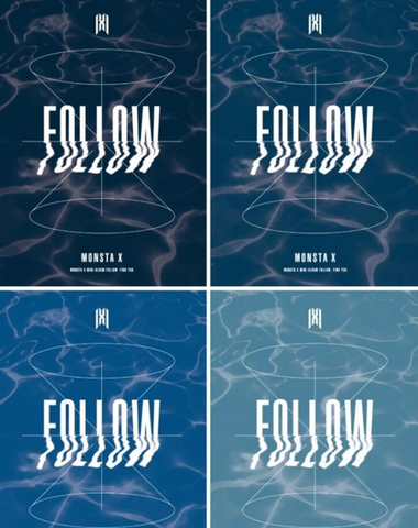 Monsta X (몬스타엑스) Mini Album - FOLLOW - FIND YOU (Korean)
