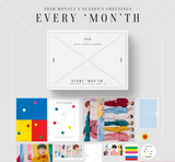 Monsta X - 2020 Season's Greetings [EVERY 'MON'TH] (Official Calendar) (Korean)