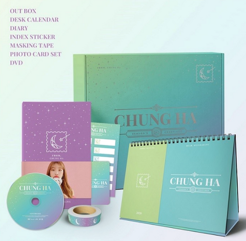Chung Ha - 2020 Season's Greetings  (Official calendar) (Korean edition)