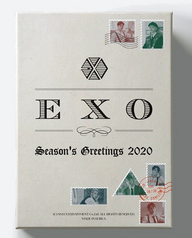 EXO - 2020 Season's Greetings (official calendar) (Korean edition)