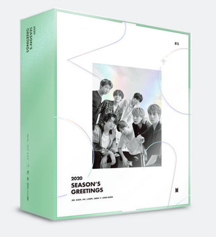 BTS - 2020 Season's Greetings (OFFICIAL CALENDAR) (KOREAN EDITION)