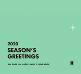 BTS season's greeting 2020 WALL CALENDAR (LIMITED EDITION)