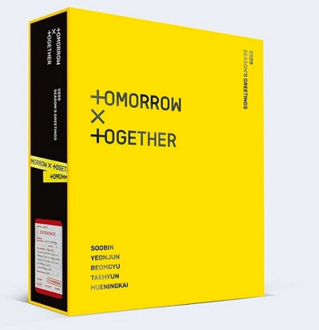 TXT (TOMORROW X TOGETHER) 2020 Season's Greetings (OFFICIAL CALENDAR) (KOREAN EDITION)