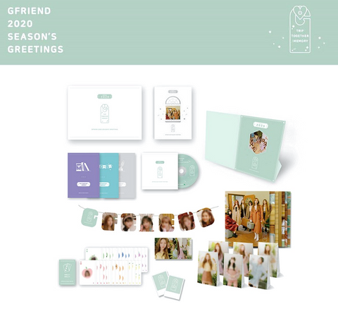 GFRIEND - 2020 Season's Greetings (OFFICIAL CALENDAR) ( Korean Version )