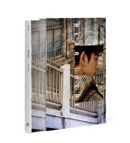 Jinyoung - Photobook in Taipei : HEAR, HERE (Limited Korean Edition)