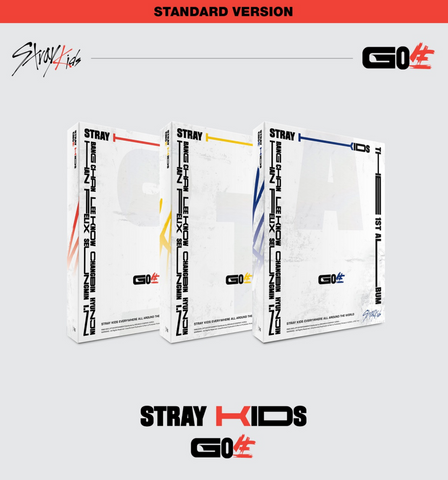 Stray Kids - Vol. 1 : GO LIVE (NORMAL KOREAN EDITION)